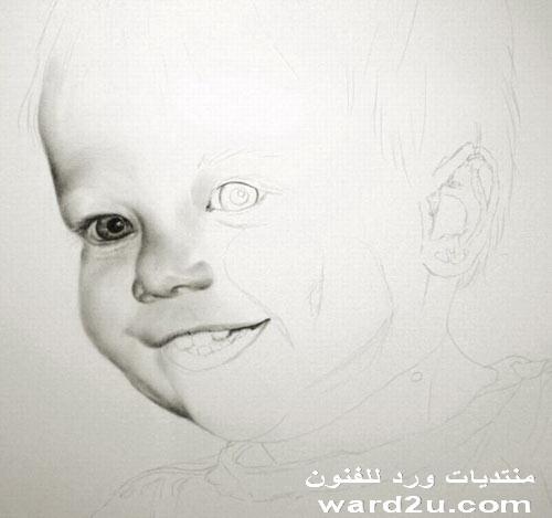 دروس فى الرسم والتلوين بالصور