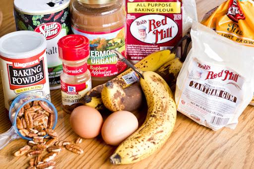 gluten free, banana, bread