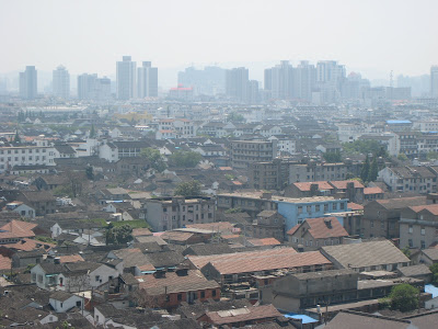 View on Suzhou from North Temple Pagoda