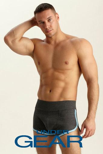 Picture About Anton Antipov for Under Gear Male Underwear