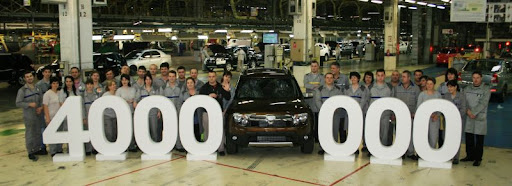 Дачия выпустила 4 миллиона автомобилей