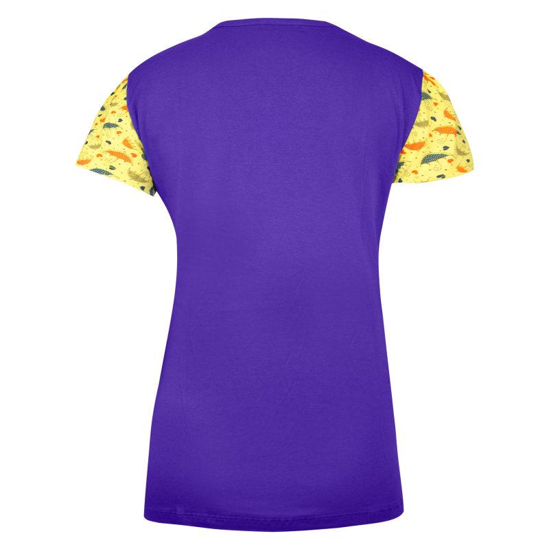 ست تی شرت و شلوار زنانه کد 2055