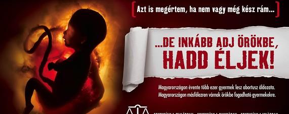 Campaña pro-vida del gobierno de Hungría