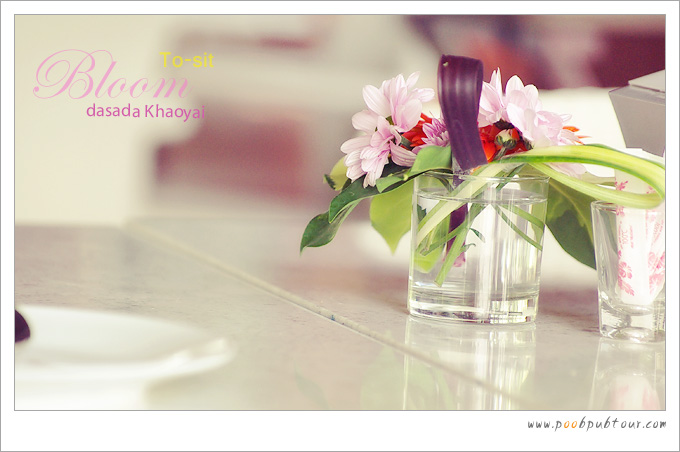 จัดดอกไม้สวยมาก