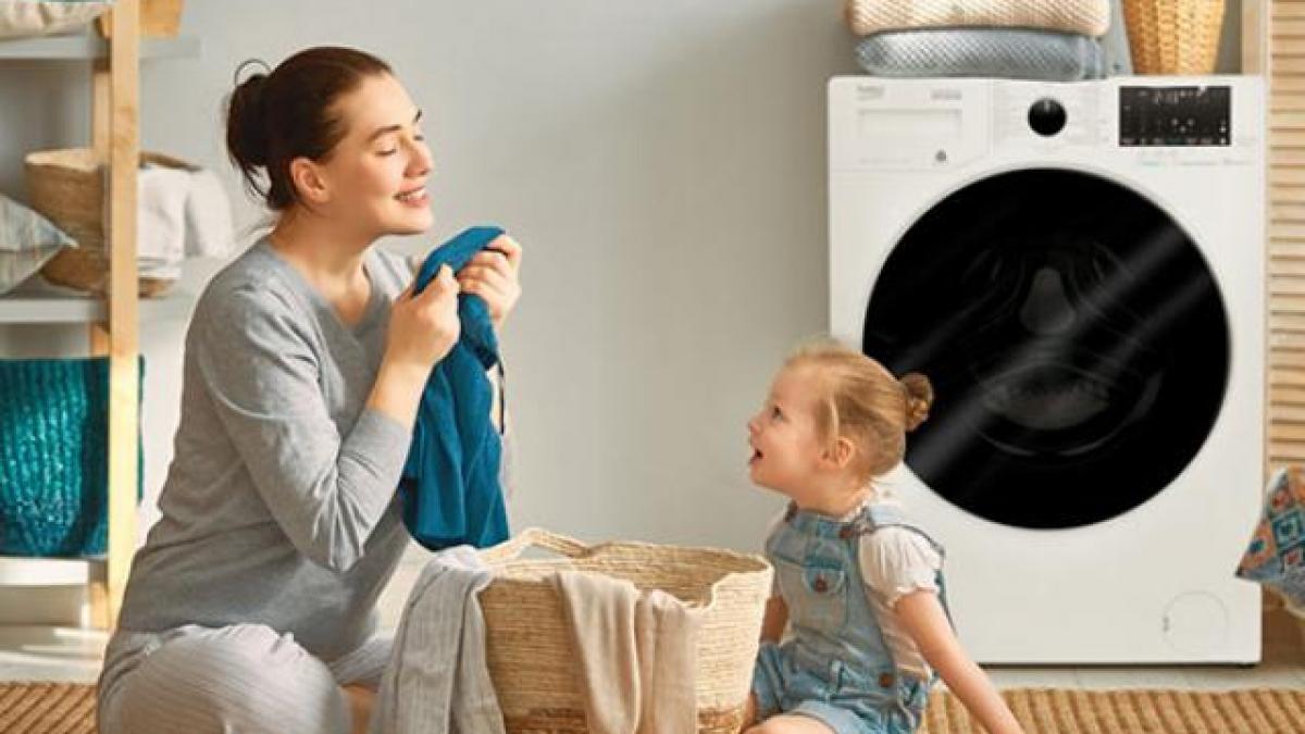 Quần áo thơm tho sau khi giặt bằng nước nóng