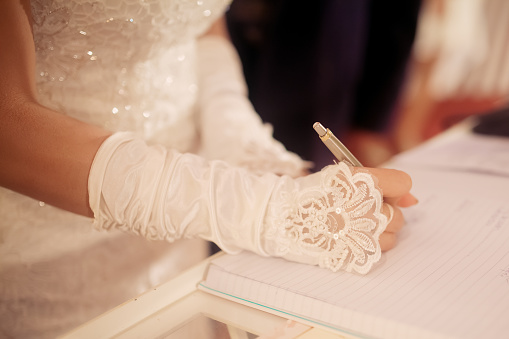 Legal fees in a wedding are not big budget items
