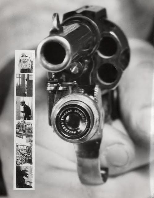 revolver pistol gun camera