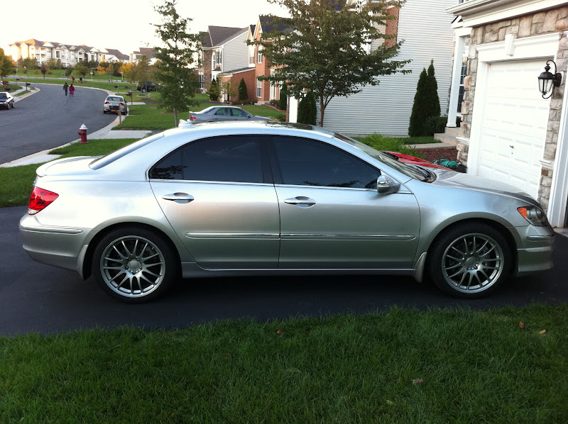 Coilovers For Rl AcuraZine Acura Enthusiast Community - Acura rl coilovers
