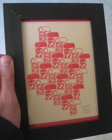 myr print framed