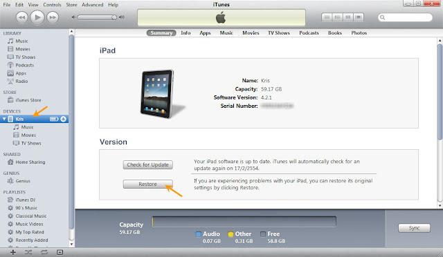 เทคนิคการ Jailbreak iPad iOS version 4.2.1 ด้วย greenpois0n Ipad004
