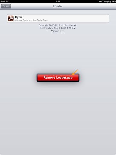 เทคนิคการ Jailbreak iPad iOS version 4.2.1 ด้วย greenpois0n Ipad025