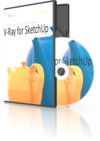SketchUp - V-Ray for SketchUp 1.49.02 [อัพเดตลิงก์] Vraybox