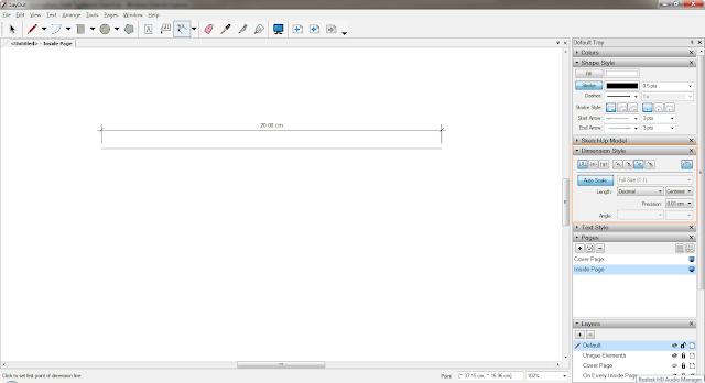 อยากทราบการตั้งค่า Scale ใน Layout SketchUp Layout03
