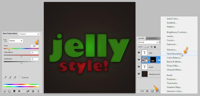 เทคนิคการสร้างตัวอักษรแบบ Plastic Jelly Pj13