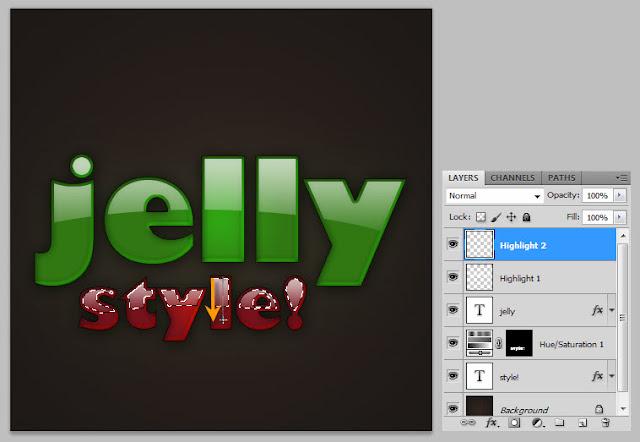 เทคนิคการสร้างตัวอักษรแบบ Plastic Jelly Pj17