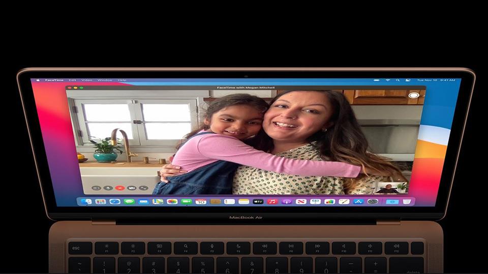 gọi video MacBook Air 13 2020 M1