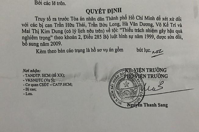TPHCM: Mở phiên tòa xét xử lãnh đạo quỹ tín dụng gây thiệt hại 19 tỷ đồng - Ảnh 1