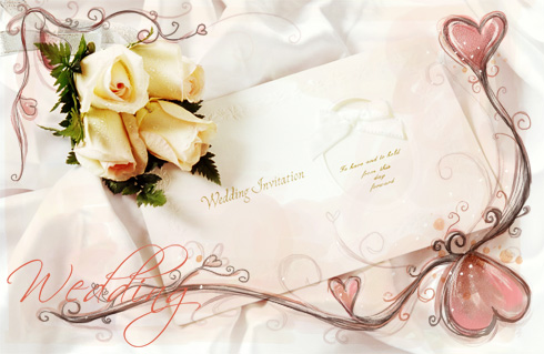 Wedding Invitation PSD