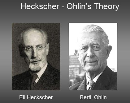 Heckscher ohlin theory of trade