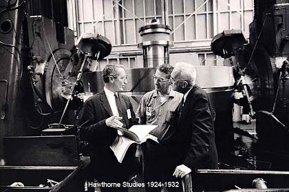 hawthorne studies experiments