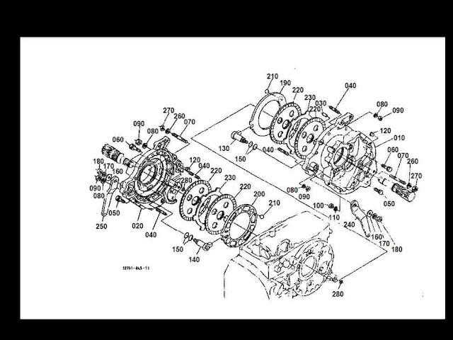 KUBL35PDF3 kubota l35 l 35 d complete tractor parts manuals 315pg for sale kubota l35 wiring diagram at crackthecode.co