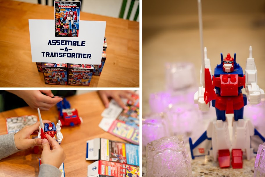 Pure Joy Events Transformers Birthday Party