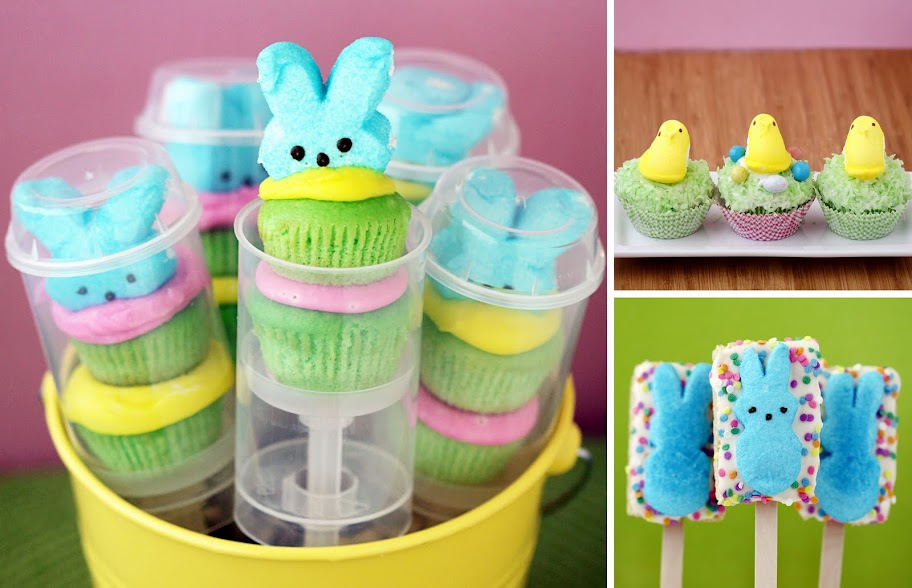 Find out how to make Peepshi (or Peeps sushi), Peeps Fluffernutter ...