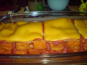 Fertige Fischstäbchen Lasagne