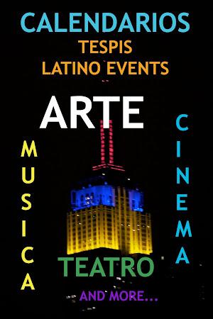 CALENDARIOS de LATINO EVENTS en NYC