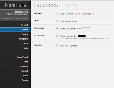 Customize How Facebook Looks In Chrome With Minimalistic For Facebook