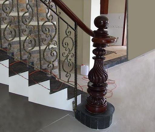 Mẫu Hoa Văn Cầu Thang -HV-012