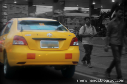 metered taxi image