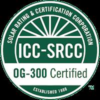 SRCC OG-300 Certification Mark