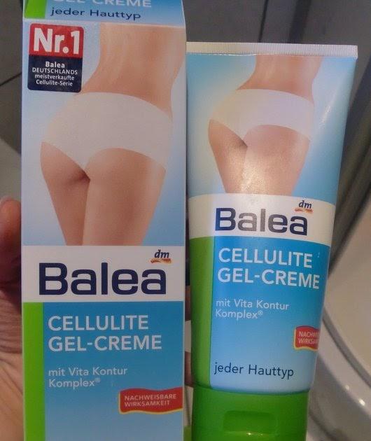 my life my live dies und das review balea cellulite gel creme. Black Bedroom Furniture Sets. Home Design Ideas