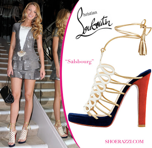 Celebrity's Shoes Blake Lively
