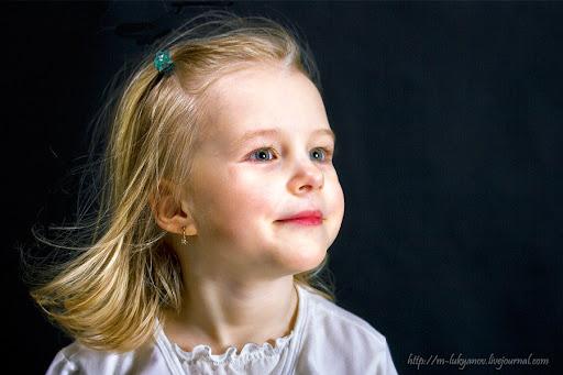 девочка, красивая, портрет, улыбающаяся
