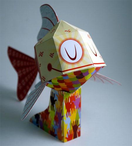 C3 Koi Paper Toy