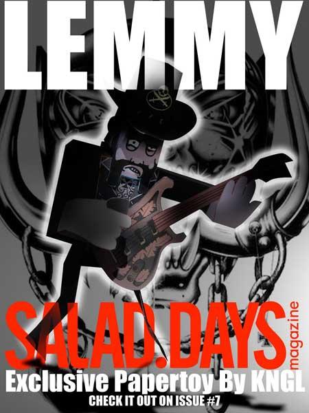 Lemmy Papercraft Motorhead