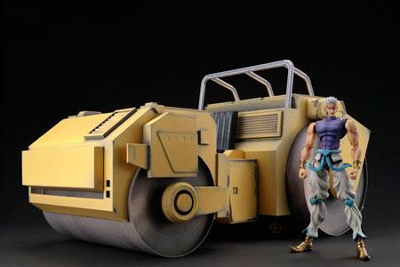 Dio Brando Road Roller Papercraft