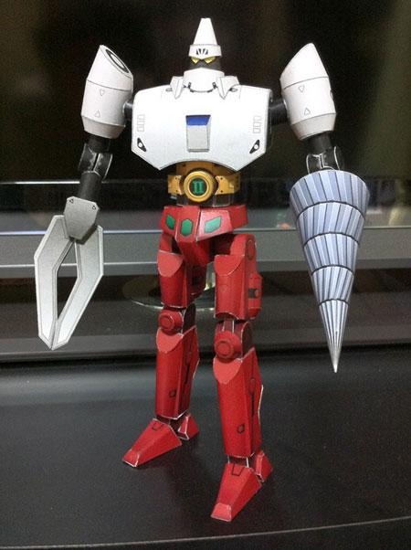 Getter Robo Papercraft Getter2