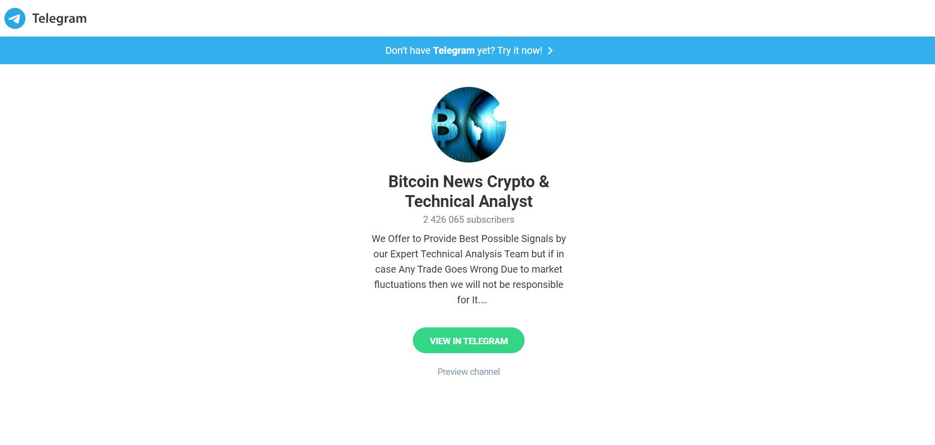 Bitcoin News Crypto & Technical Analyst