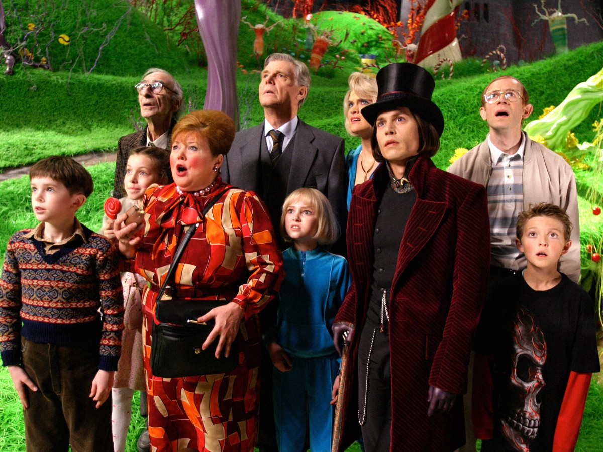 Image result for charlie and the chocolate factory 2005