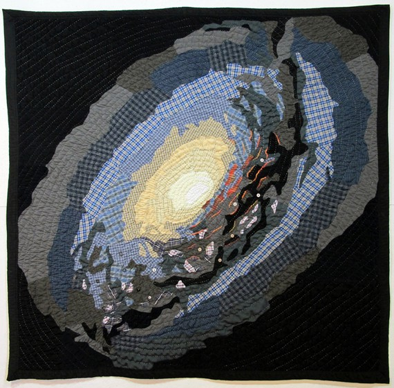 stellarquilts - M64 V3 (The Black Eye Galaxy)