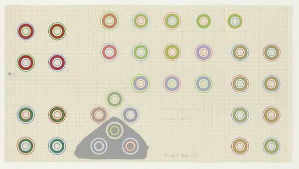 Bridget Riley, Encircling Discs