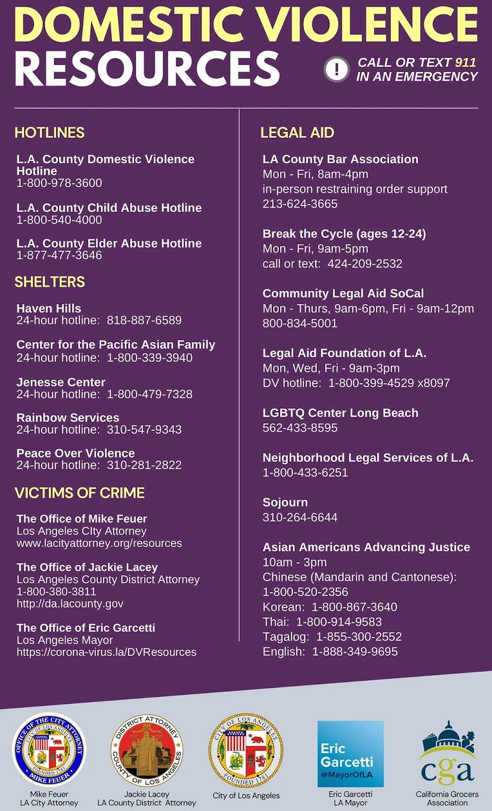 Domestic Violence Help Resources