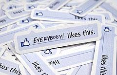 Функции кнопки Share на Facebook возьмет на себя Like