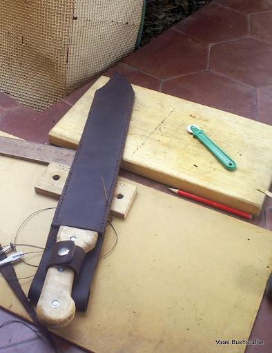 "Simple modificacion de machete panja africano 18"" S5037074"