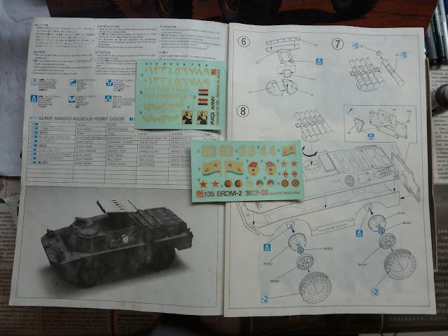 BRDM-3 Iraq (Dragon 1:35) P1010226