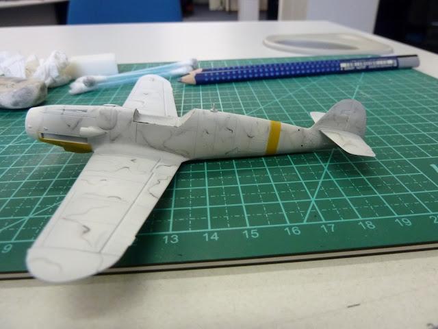 Olá! Gostaria de contribuir com o forum. Segue Bf 109G-6 ... P1010161