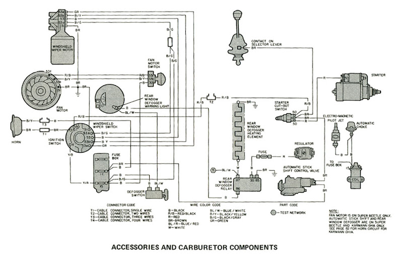 1967 vw beetle engine diagram